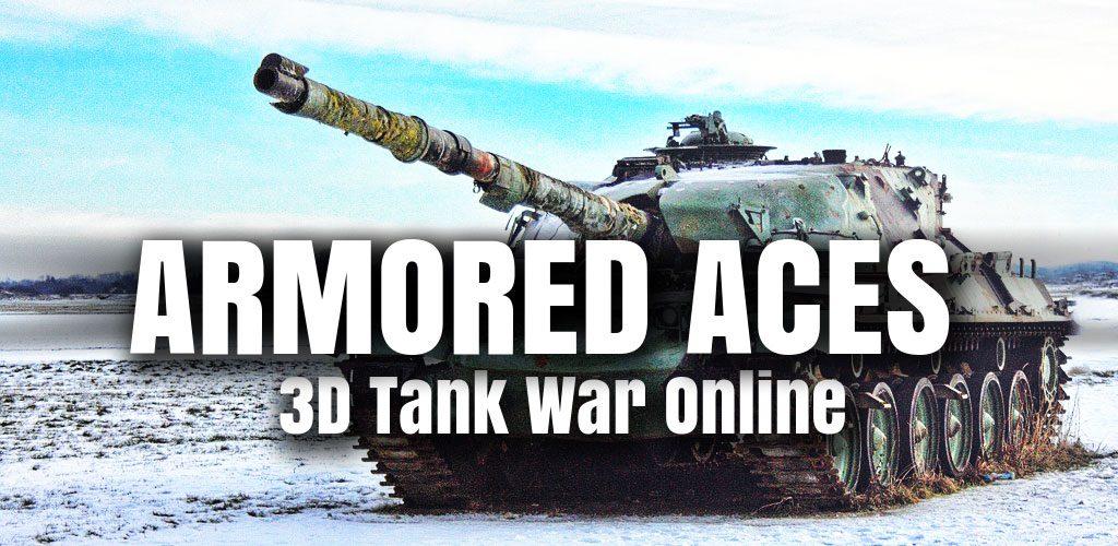 دانلود بازی آنلاین Armored Aces - 3D Tank Battlesاندروید