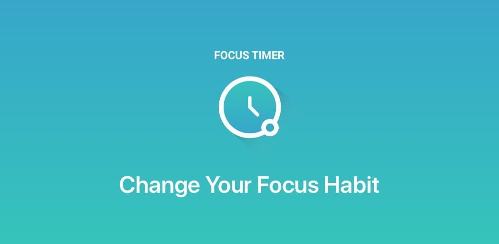Focus Timer Pro Habit Changer