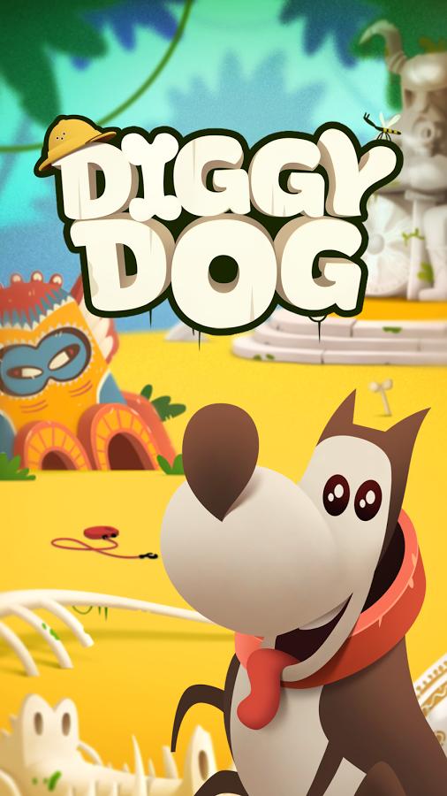 دانلودبازی My Diggy Dog اندروید